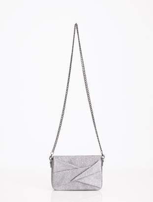 Halston GRACE SMALL BOW CROSSBODY BAG