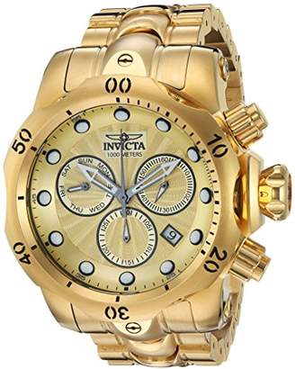 Invicta Men's 'Venom' Quartz Stainless Steel Casual Watch