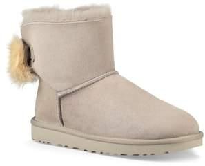 UGG Mini Fluff Bow Genuine Shearling Boot