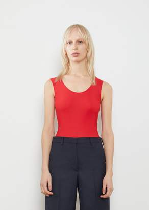 Maison Margiela Sleeveless Bodysuit Red