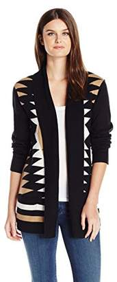 Fly London Napa Valley Women's Cashmerlon Long Sleeves Aztec Away Cardigan Sweater