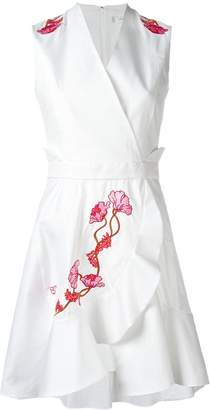 Carven embroidered flower dress