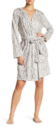 Maidenform Fleece Hooded Robe