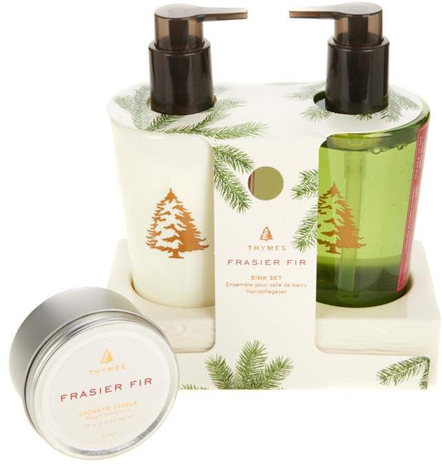 Frasier Fir Sink Set and Travel Candle