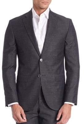 Saks Fifth Avenue Modern Woven Textured Sportcoat