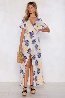 Nasty Gal The Flower of Love Maxi Dress
