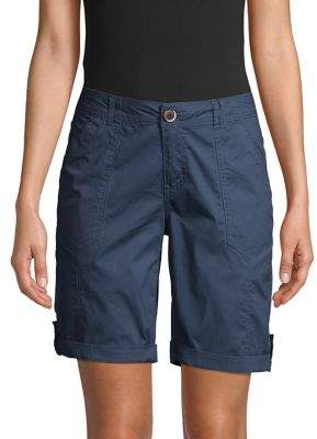 Democracy Cuffed Bermuda Shorts