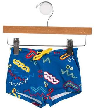 Stella McCartney Boys' Printed Swim Shorts