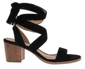 Splendid Janet Suede Tie-Up Sandals