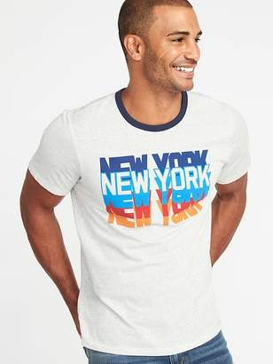 "Old Navy ""New York"" Graphic Tee for Men"