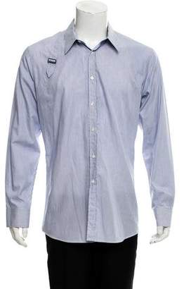 Alexander McQueen Belt-Accented Dress Shirt w/ Tags