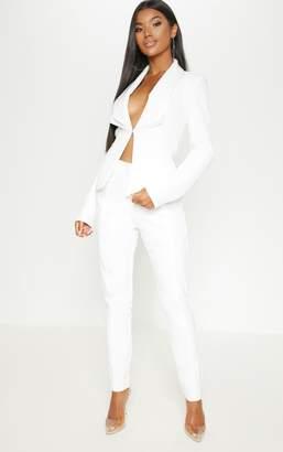 Womens Cream Trouser Suit Shopstyle Uk