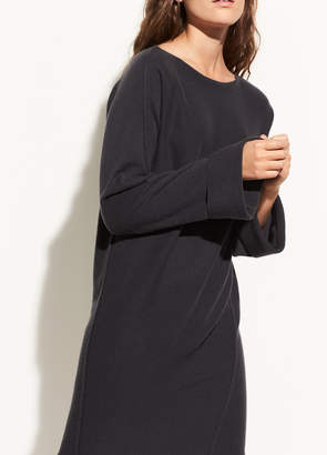 Vince Twisted Seam Wool and Cashmere Dress