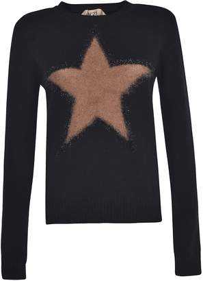 N°21 N.21 Star Print Sweater