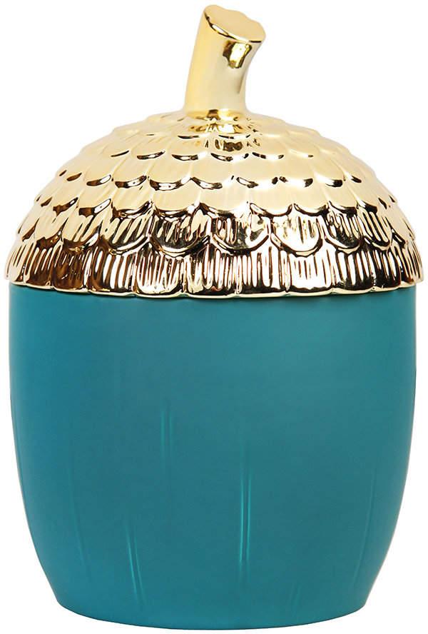 &Klevering - Acorn Storage Jar - Large - Green