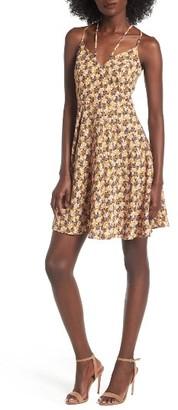 Women's Soprano Strappy Fit & Flare Dress $49 thestylecure.com