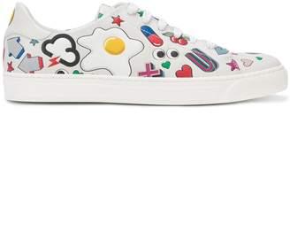 Anya Hindmarch cartoon print sneakers