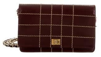 Chanel Surpique Wallet On Chain gold Surpique Wallet On Chain