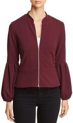 Vince Camuto Bubble-Sleeve Zip Jacket - 100% Exclusive