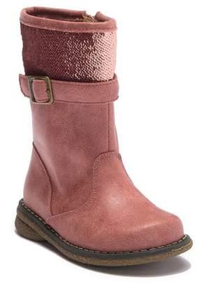 Rachel Kendra Sequin Cuff Boot (Toddler & Little Kid)