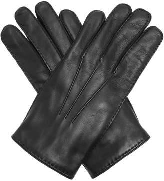 Alexander McQueen Skull-embellished leather gloves