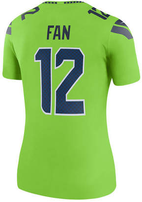 Nike Women Seattle Seahawks Color Rush Legend Jersey