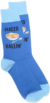 Hot Sox Matzo Ballin' Crew Socks - Men's