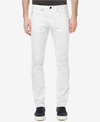Buffalo David Bitton Men's White Slim-Fit Stretch Jeans