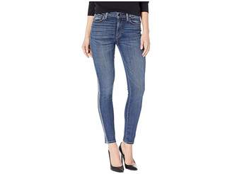 Hudson Barbara High-Rise Ankle with Side Taping Skinny Jeans in Hypnotic