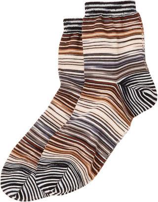 Missoni Stripe Crew Socks