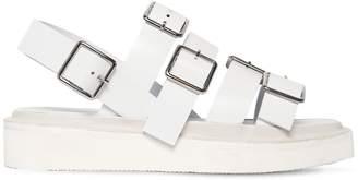 Jil Sander 20mm Buckled Leather Sandals