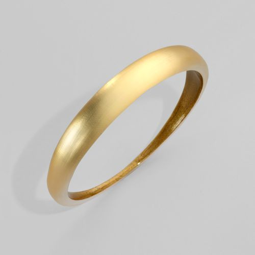 Alexis Bittar Skinny Tapered Gold Bangle