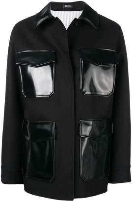 Jil Sander Navy contrast pockets jacket