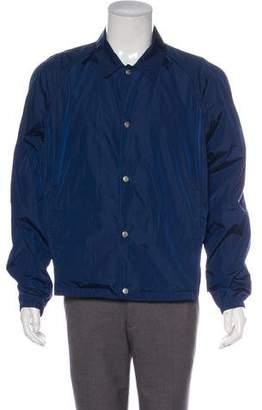 Gucci Lightweight Button-Up Jacket