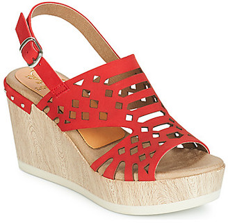 Dorking 7756 women's Sandals in Red