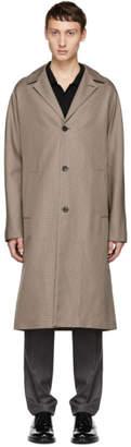 Joseph Beige Mini Houndstooth Coat