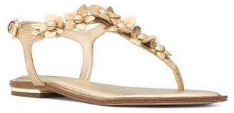 MICHAEL Michael Kors Women's Tricia Leather Thong Sandals