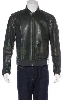 Marc Jacobs Distressed Leather Jacket