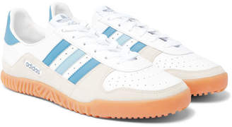adidas Indoor Comp Spzl Leather And Suede Sneakers