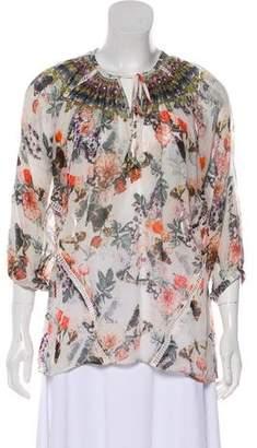 Camilla Oversize Silk Blouse