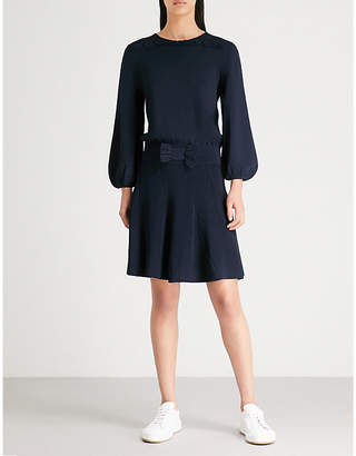 Claudie Pierlot Moonlight crepe dress