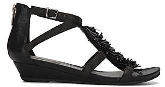 Kenneth Cole Reaction Women's Great Fringe T-Strap Wedge Sandal