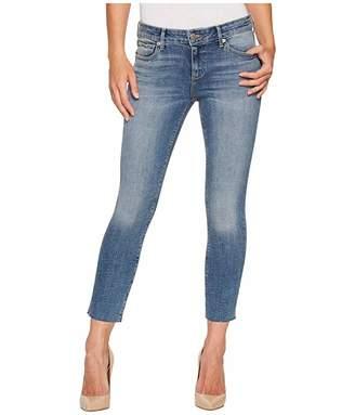 Lucky Brand Lolita Crop Cut Hem Jeans in Sunbeam