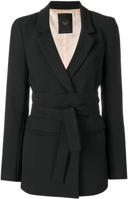 Frankie Morello belted blazer