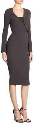Roland Mouret Ormond Asymmetric Dress