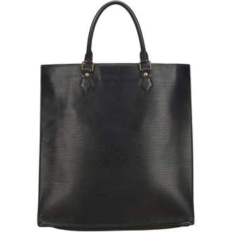 Louis Vuitton Plat leather tote
