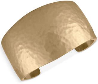 Rachel Roy Gold-Tone Hidden Inspiration Cuff Bracelet