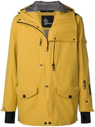 Moncler hooded raincoat