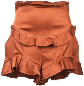 Marissa Webb short ruffled shorts