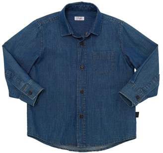 Il Gufo Cotton Chambray Shirt